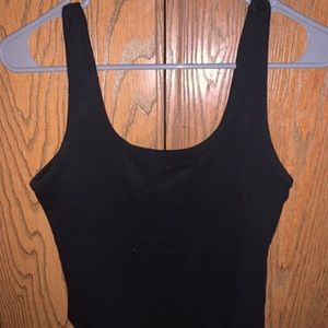 American Eagle Square body suit in black!